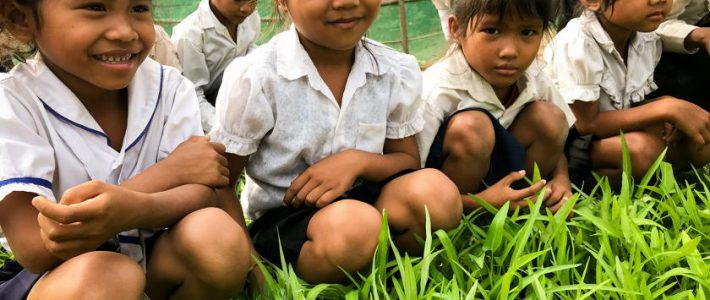 Seeding the future: school-children in Cambodia pave way for climate adaptation